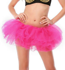 Sexy Women's Adult Dancewear Tutu Mini Ballet Pettiskirt Princess  Party Skirt