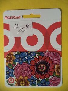 Target $ 20.00 Gift Card
