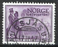 Norway 1947, NK 365 Haugsjåsund 17-IV-14 (TE-Grade 4)