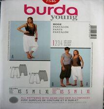 Burda Unisex Pants Sewing Patterns