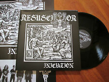 RESUSCITATOR Initiation LP GATEFOLD NUCLEAR WAR NOW CULT OF DAATH NO CD
