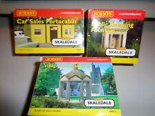 Skaledale R8781, R 8765 & R8973 Drinking Fountain, Portakabin, Village Shelter.