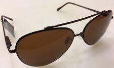 Steve Madden Aviator Sunglasses smm47278 Brown Snap-hinges 100Uv