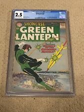 Showcase 22 CGC 2.5 (1st app of Silver Age Green Lantern from 1959!!)