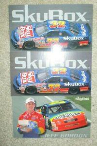 1994 Skybox Winner of the Brickyard 400 Jeff Gordon NASCAR Card & 2 Exchange