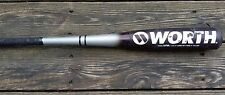 WORTH WINSL WICKED INSANITY SENIOR LEAGUE 31/23  2 5/8 DIAMETER BASEBALL BAT