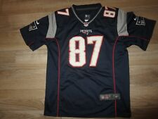 Rob Gronkowski Gronk #87 New England Patriots NFL Jersey Youth M 12-14
