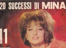 LP 3266       20 SUCCESSI DI MINA    ITALDISC