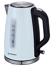 Bouilloire pour thé blanc acier inoxydable design cuisinière 1,7 litre 2200W