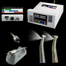 3rd Generation CICADA Dental Electric Motor + 1:1 + 1:5 Handpiece Contra Angle