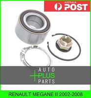 Fits RENAULT MEGANE II 2002-2008 - Front Wheel Bearing 37X72X37