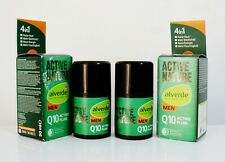pack of 2 Alverde Active Nature Q 10 Men Active Fluid firms elasticity moisture