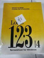 💾Lotus 1-2-3 Release 4 Spreadsheet Windows Software User Guide~Floppy Discs