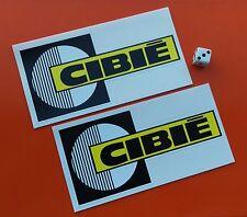 X 2 CIBIE Spot Luz Pegatinas 150mm X 75mm Vinilo De 7-10 año de tintas Eco Solvente