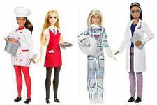 Barbie Astronaut Space Scientist and Barbie Friend Careers Chef & Wait sets