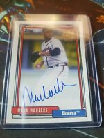 2020 Topps Archives Mark Wohlers Fan Favorites Auto FFA-MW Braves