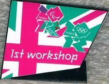 2012 London Licensing & Retail 1st Workshop Olympic/Paralympic Games Marks Pin