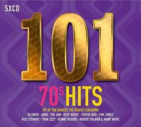 101 70'S HITS 5 CD BOXSET VARIOUS ARTISTS (SEVENTIES) 2017