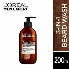L'Oreal Paris Men Expert Barber Club(3-In-1)Beard,Face & Hair Wash-Free Shipping