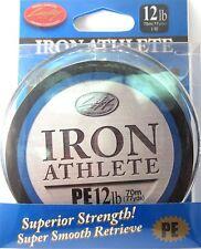 LUCKY CRAFT Iron Athlete PE Braided Line - 12lb 77yds