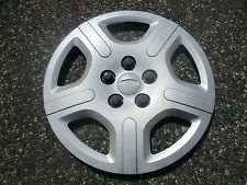 one genuine 2004 to 2007 Ford Freestar 16 inch bolt on hubcap wheelcover silver