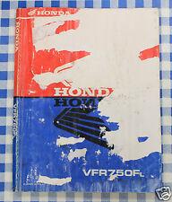 BB 69MT400 Manual De Taller Honda VFR 750 F L