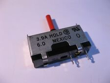 Reset Button LittelFuse 230 815 Series 3.9A Hold 6.0A Television TV - NOS Qty 1