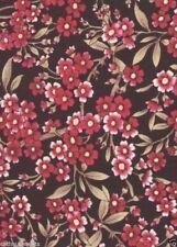 Eastern Sense Simple Floral Quilt Fabric - 1 Yard