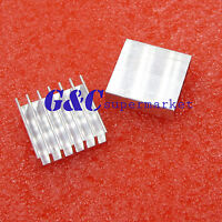 5PCS 20*20*6mm High Quality Aluminum Heat Sink for LED Power Memory Chip IC