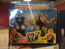 WWF WWE Wrestling Figure MOC 1998 Fantasy Warface 2 Pack STONE COLD ANDRE GIANT