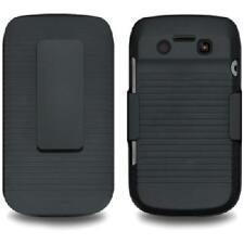 AMZER Shell Holster Belt Clip Shellster™ Case - Black For BlackBerry Bold 9790