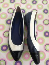 Brand New DKNY Women's Shoes Flats Patent Leather Size 38 RRP $280