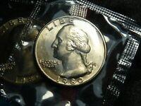1980 P Washington 25c Quarter BU Uncirculated US Coin In OGP Mint Cello