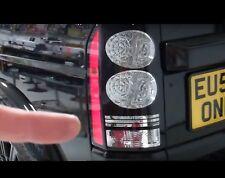 4pc Bombilla LED de niebla & inversa de actualización de luz trasera Land Rover Discovery 3/4 Lámpara LR3