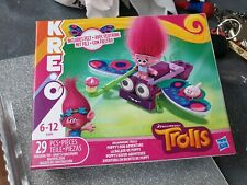 BNIB Trolls World tour Kreo Poppys Bug Adventure building blocks construction
