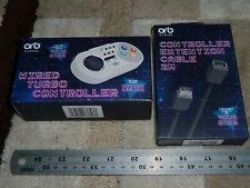 SUPER NINTENDO SNES MINI CLASSIC CONTROLLER + EXTENSION CABLE BRAND NEW! NES Wii