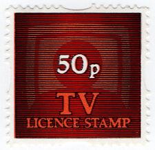 (I.B) Elizabeth II Revenue : TV Licence Savings Stamp 50p