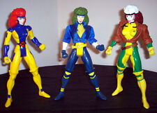 "MARVEL 1990s Super Hero X-MEN 10"" Figures Jean Grey ROGUE Polaris X-Factor"