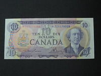 1971 $10 DOLLAR BILL BANK NOTE CANADA REPLACEMENT BILL*TC1178008 UNC