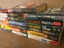 Lot of 10 LISA GARDNER Mystery Books FBI PROFILER D.D. WARREN Paperback *RANDOM*