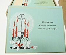 Vintage Original 1920 / 1930 Christmas Cards 46 count with envelopes Art Deco