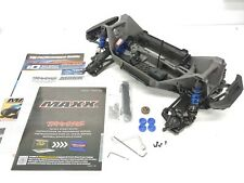 NEW: Traxxas MAXX 4s 1/10 Roller Slider Chassis Blue Version Monster Truck
