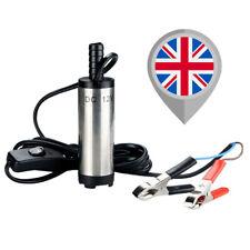 Oil Diesel Fuel Pump No Filter DC 12V Transfer Pump Water Fluid SILVER V02
