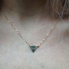 TRIANGLE Charm Everyday Necklace, ALL 14k Gold-filled, Contemporary & Classy.