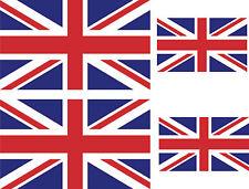 4 x union jack uk great britain GB england decals sticker bike scooter car vinyl