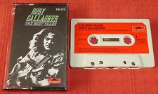RORY GALLAGHER - CASSETTE TAPE - THE BEST YEARS - PAPER LABELS