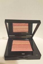 "Bobbi Brown Shimmer Brick Compact Face Powder ""Wild Rose"" w/ Travel Brush NEW LE"