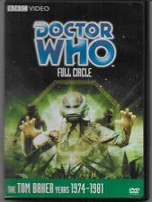 Doctor Who Tom Baker Full Circle Dvd Region 1