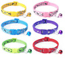 Nylon Dog Collar Puppy Small XS Tiny Strong Clip Bling Pink Male Female Scotty