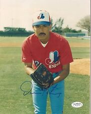 DENNIS MARTINEZ MONTREAL EXPOS AUTOGRAPHED SIGNED 8X10 PHOTO JSA SOA AUTHENTIC